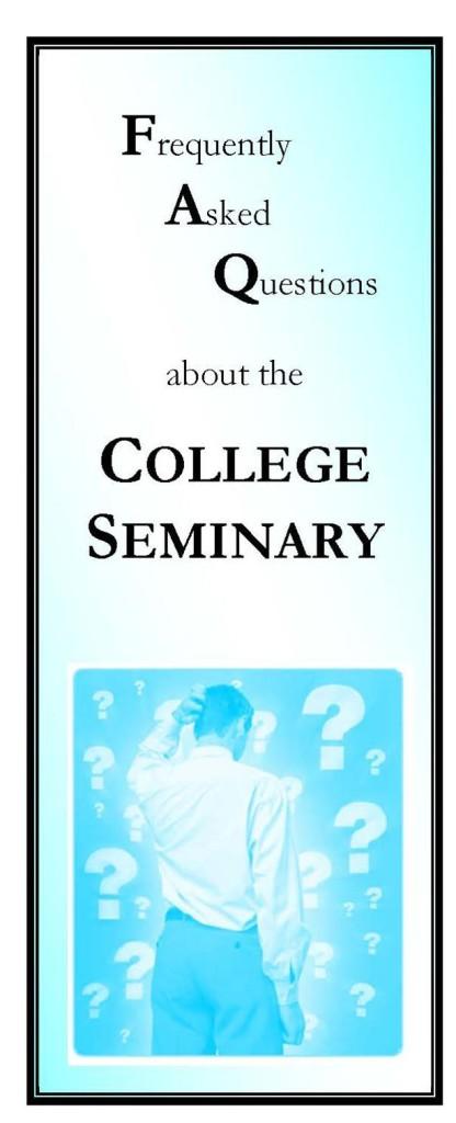 FAQ_College Seminary