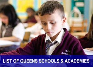 Queens academies and schools