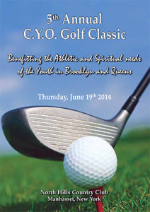 CYO Golf Classic Diocese of Brooklyn Annual Catholic Appeal