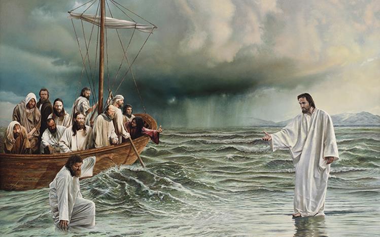 Jesus on water2