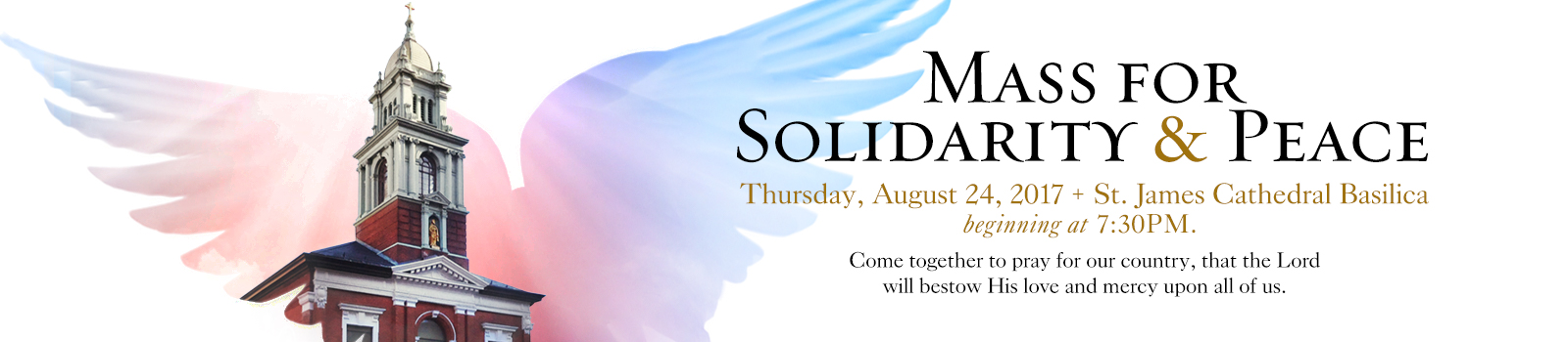 Mass for Solidarity and Peace