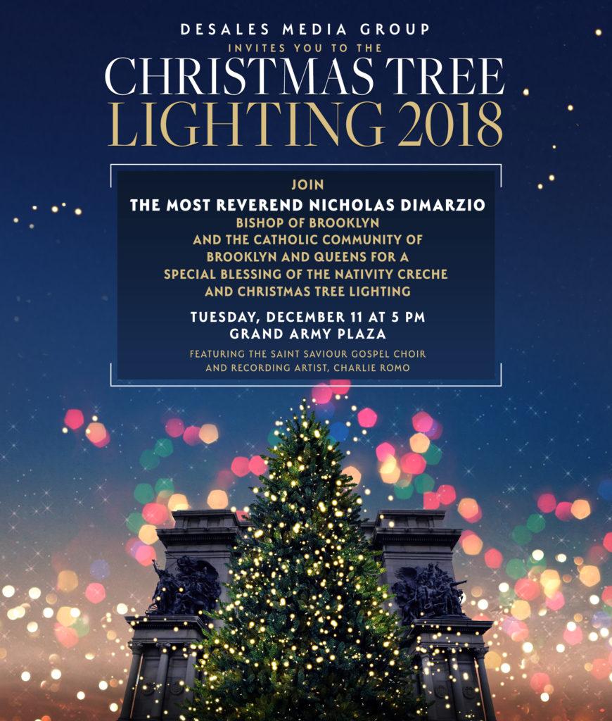 Diocese Christmas Tree Lighting Diocese Of Brooklyn