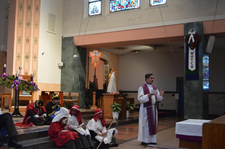 Our Lady Of Lourdes Catholic Academy S Nativity Reenactment
