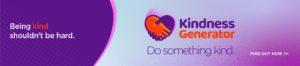 Kindness Generator Banner