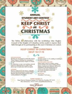 Student Art Contest Flyer